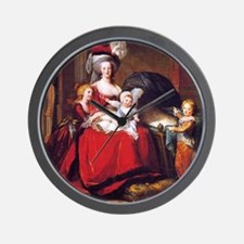 Lebrun: Marie Antoinette & children Wall Clock