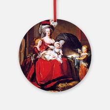 Lebrun: Marie Antoinette & childr Ornament (Round)