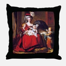 Lebrun: Marie Antoinette & children Throw Pillow