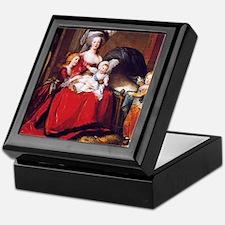 Lebrun: Marie Antoinette & children Keepsake Box