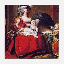 Lebrun: Marie Antoinette & children Tile Coaster