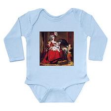 Lebrun: Marie Antoinet Long Sleeve Infant Bodysuit