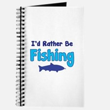 I'd rather be fishing with my daddy Journal