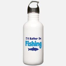 I'd rather be fishing with my daddy Water Bottle