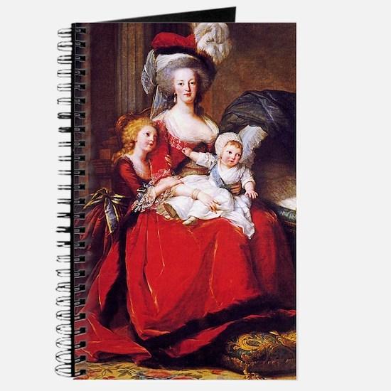 Lebrun: Marie Antoinette & children Journal