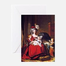Lebrun: Marie Antoinette & children Greeting Card