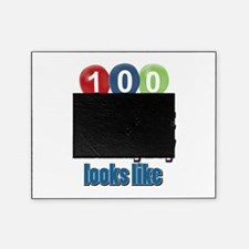 This is what 100 looks like Picture Frame