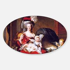 Lebrun: Marie Antoinette & children Decal
