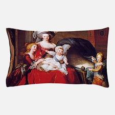 Lebrun: Marie Antoinette & children Pillow Case