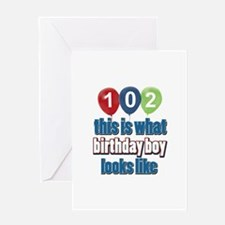 This is what 102 looks like Greeting Card