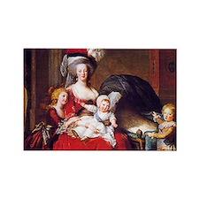 Lebrun: Marie Antoinet Rectangle Magnet (100 pack)
