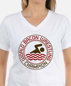 World Bacon Wrestling Champion Shirt