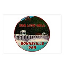 Sea Lion Hell Postcards (Package of 8)