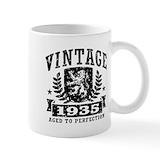 80th birthday Coffee Mugs