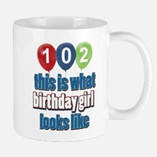 102 year old birthday girl Mug