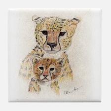 Cheetahs Tile Coaster