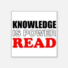 Knowledge Is Power Sticker