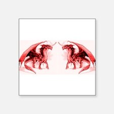 Red Dragons Sticker