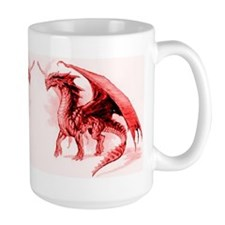 Red Dragons Mug