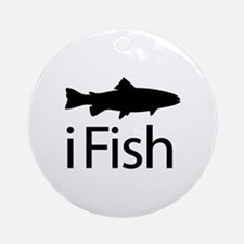 iFish Ornament (Round)
