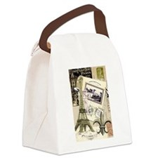 Everything Paris Canvas Lunch Bag