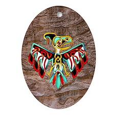 Thunderbird Ornament (Oval)