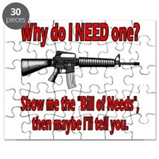 Bill of Needs Puzzle
