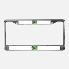 Massage Therapist / Waterlily License Plate Frame