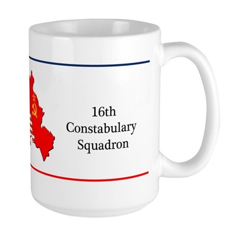 16th Constabulary Squadron Coffee Large Mug