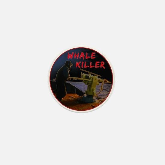Whale Killers Mini Button (10 pack)