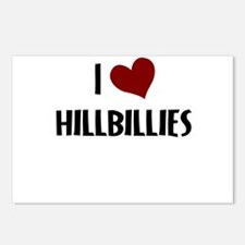 I LOVE HILLBILLIES Postcards (Package of 8)