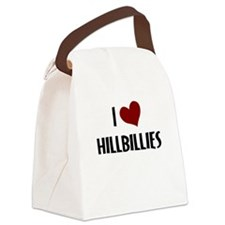 I LOVE HILLBILLIES Canvas Lunch Bag