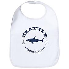 Sharking Seattle Bib