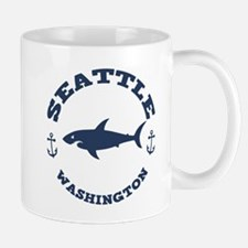 Sharking Seattle Mug