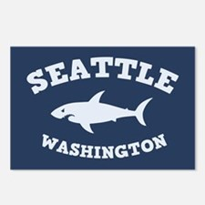 Sharking Seattle Postcards (Package of 8)