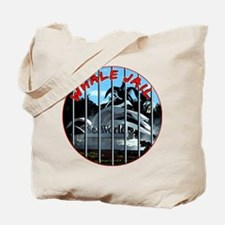 Whale Jail Tote Bag