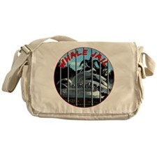 Whale Jail Messenger Bag