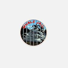 Whale Jail Mini Button