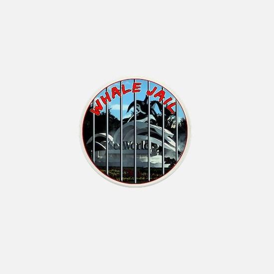 Whale Jail Mini Button (10 pack)