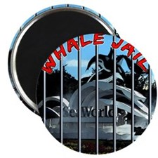 Whale Jail Magnet