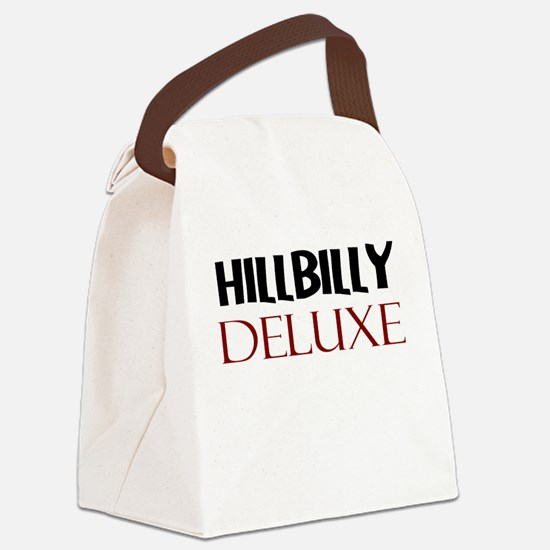 HILLBILLY DELUXE Canvas Lunch Bag