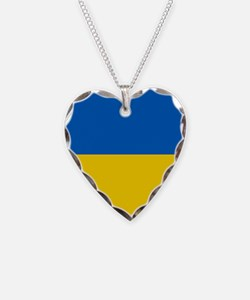 Flag of the Ukraine Necklace