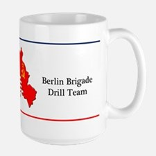 Berlin Brigade Drill Team Large Coffee Mug