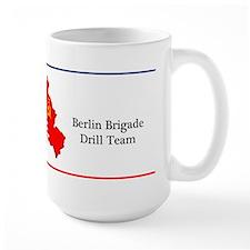 Berlin Brigade Drill Team Large Coffee Mug