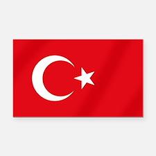 Flag of Turkey Rectangle Car Magnet