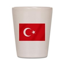 Flag of Turkey Shot Glass