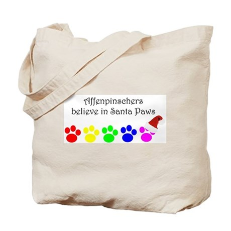 Affenpinschers Believe Tote Bag