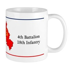 4th Battalion 18th Infantry Coffee Mug