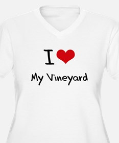 I love My Vineyard Plus Size T-Shirt