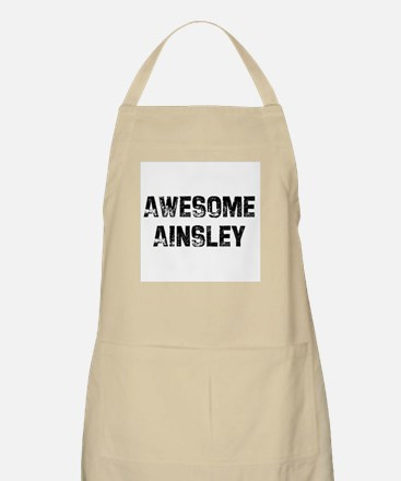 Awesome Ainsley BBQ Apron